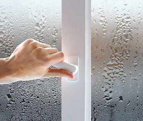 Потеют окна?